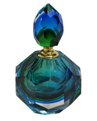 Georgia Art Glass Perfume Bottle by