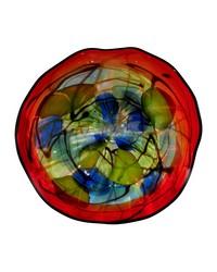 Hankley 9in Art Glass Wall Art Decor by