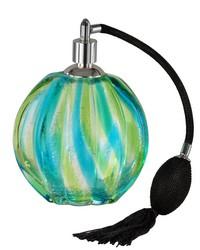 Corona Art Glass Perfume Bottle by