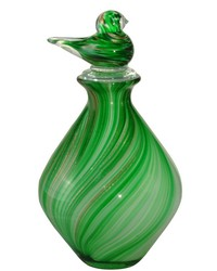 Adel Hand Blown Art Glass Vase by
