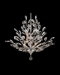 Monaco Crystal Chandelier Polished Chrome by
