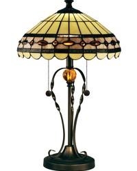 Bert Tiffany Table Lamp Tiffany Bronze by
