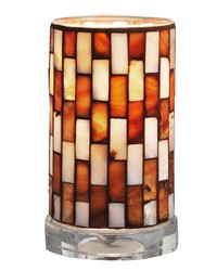 Myraid Mosaic Accent Lamp Clear by