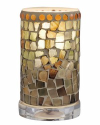 Knighton Mosaic Accent Lamp Clear by