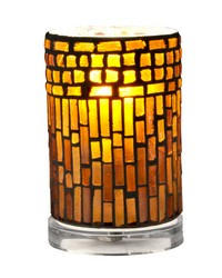 Calico Mosaic Accent Lamp Clear by