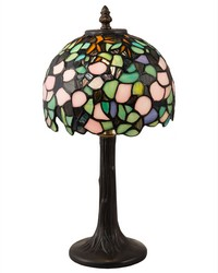 Lana Tiffany Accent Lamp Antique Bronze by
