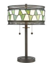 Rainy Slate Tiffany Table Lamp Tiffany Bronze by
