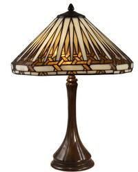 Almeda Tiffany Table Lamp Antique Bronze by