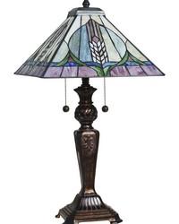 Tavas Tiffany Table Lamp Fieldstone by