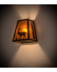 Lone Stag Wall Sconce 120132 by