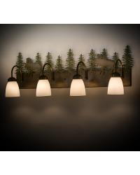 Wandering Moose 4 LT Vanity Light by
