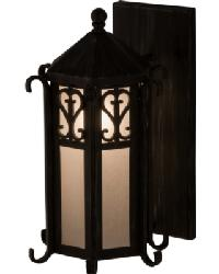 Caprice Lantern Wall Sconce by