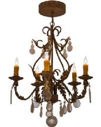 French Elegance 5 LT Chandelier by