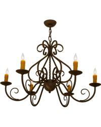 Jenna 6 LT Chandelier by