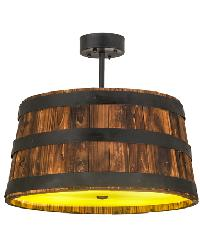 Whiskey Barrel Pendant by