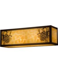 Winter Pine Vanity Light by