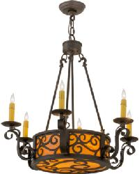 Delano 6 LT Chandelier by