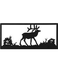 Lone Elk Wall Art by