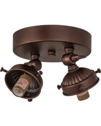 Mahogany Bronze 2 LT Flushmount Hardware by