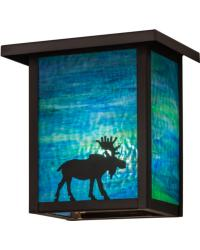 Hyde Park Moose Wall Sconce 163102 by