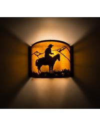 Cowboy Wall Sconce 163105 by
