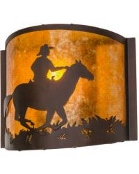 Cowboy Wall Sconce 163112 by