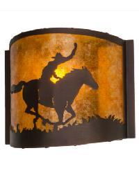 Cowboy Wall Sconce 163132 by