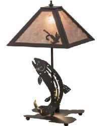 Leaping Trout Table Lamp 164182 by