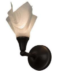 Metro Blanco Swirl Wall Sconce 164344 by