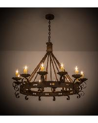Goulaine Corde 12 LT Chandelier 164661 by