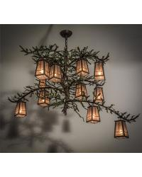 Pine Branch Valley View 12 LT Chandelier 164833 by