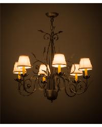 Bordeaux 6 LT Chandelier by