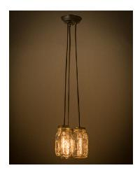Mason Jar 3 LT Pendant 165847 by