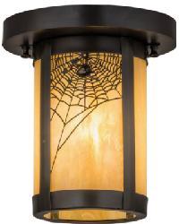 Fulton Spider Web Flushmount by