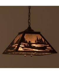 Canoe At Lake Pendant 166329 by