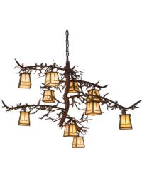 Pine Branch Valley View 10 LT Chandelier 166759 by