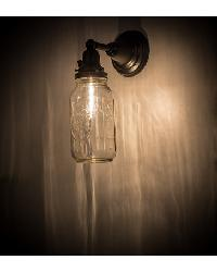 Mason Jar Wall Sconce 167353 by