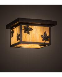 Hyde Park Maple Leaf Flushmount 168726 by