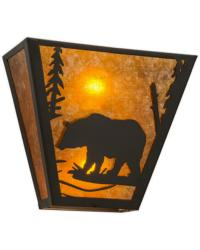 Bear Creek Left Wall Sconce 169334 by
