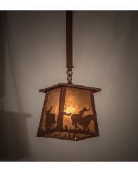 Cowboy Steer Pendant 169618 by