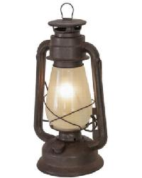 Miners Lantern Table Lamp by