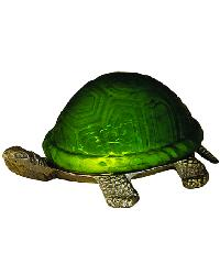 Turtle Art Glass Accent Lamp 18006 by