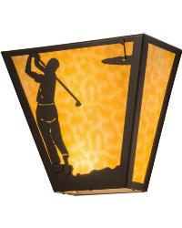 Golf Wall Sconce 22167 by