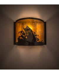 Leaping Bass Wall Sconce 23823 by
