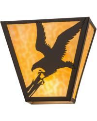 Strike of the Eagle Wall Sconce 23952 by