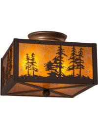 Tall Pines Flushmount 23982 by