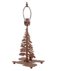 Tall Pines Lighted Base Table Base 27193 by