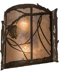 Whispering Pines Wall Sconce 32794 by