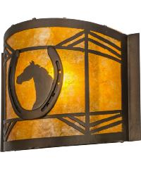 Horseshoe Wall Sconce 51502 by