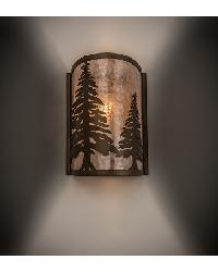 Tall Pines Wall Sconce 68169 by